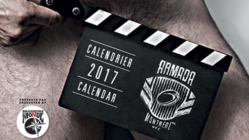 Lancement du calendrier 2017 du Armada Montréal RFC