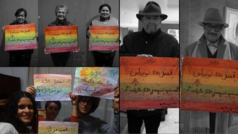 Report du procès des 6 étudiants condamnés pour homosexualité