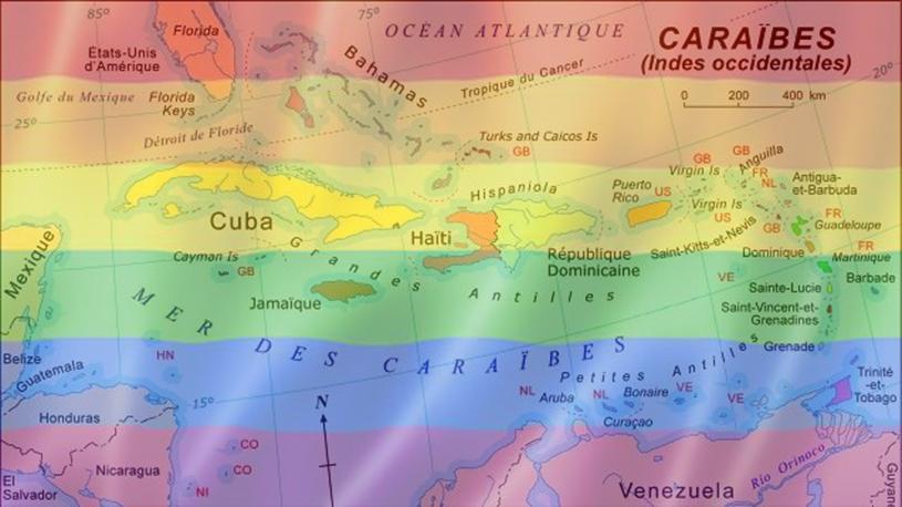 Être homosexuel dans la Caraïbe, une situation difficile.