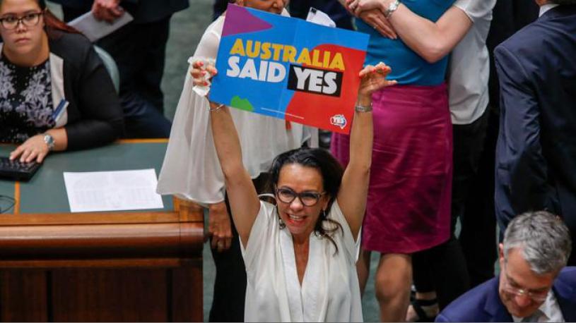 l 39 australie adopte la loi sur le mariage gay le guide actu. Black Bedroom Furniture Sets. Home Design Ideas