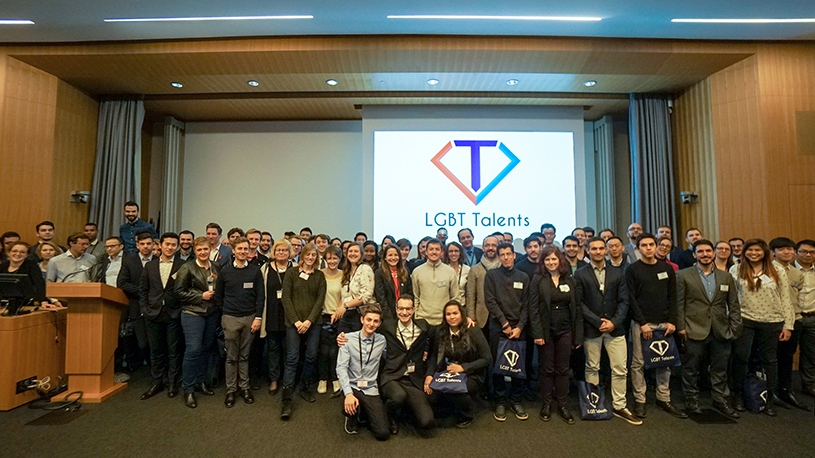 Première édition de LGBT Talents, les étudiants de ESCP Europe n'en manquent pas....