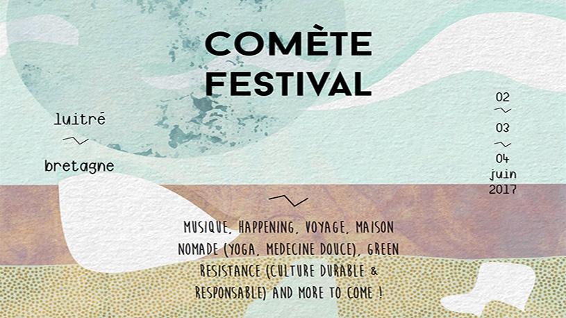 Comète Festival, du 2 au 4 juin à Luitré