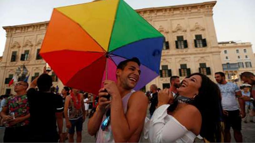 Malte autorise le mariage des couples de même sexe