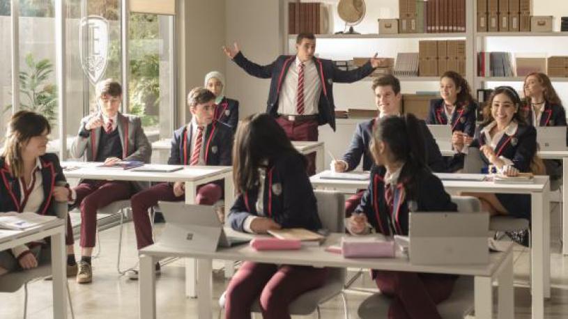 """L'empire des séries. """"Elite"""", la nouvelle série espagnole de Netflix après """"La casa de papel"""""""