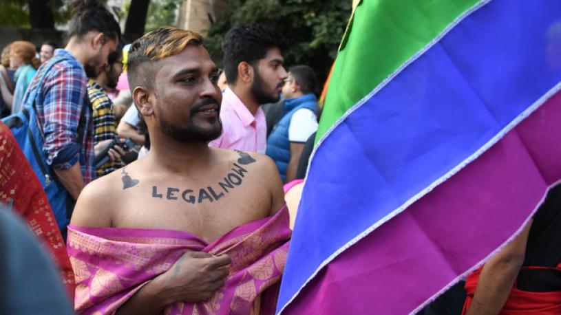 Premier défilé LGBT à New Delhi depuis la dépénalisation de l'homosexualité