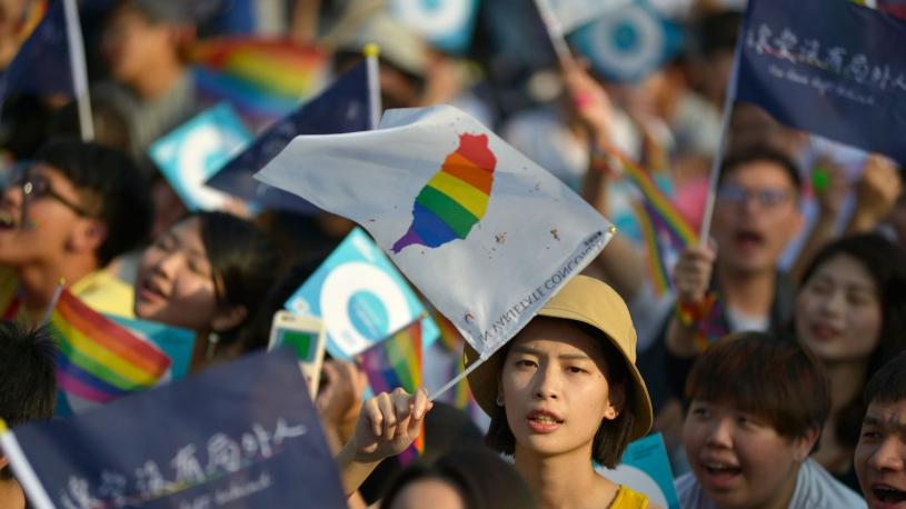 Les Taïwanais ont voté non au mariage homosexuel
