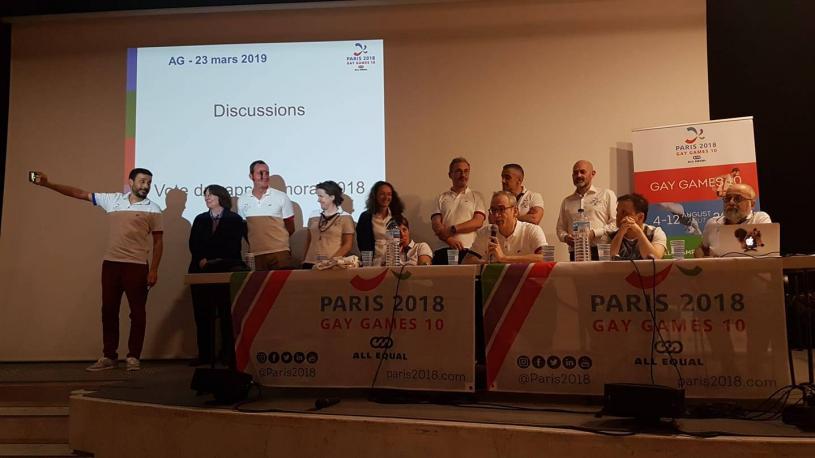 Clap de fin pour Paris 2018 et des #GayGames à Paris
