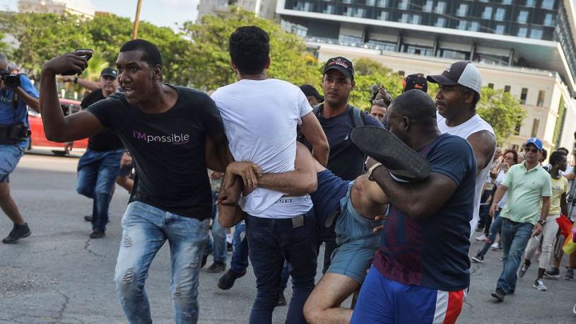 Cuba : la police interrompt une marche pour les droits des LGBT