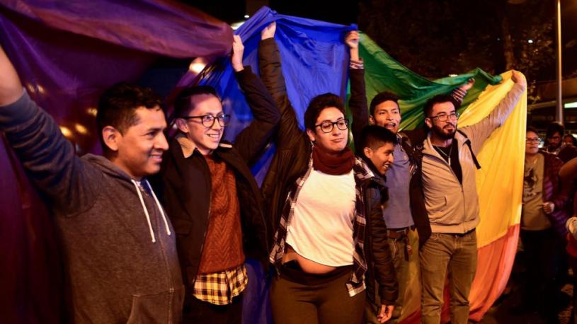 L'Équateur adopte le mariage homosexuel