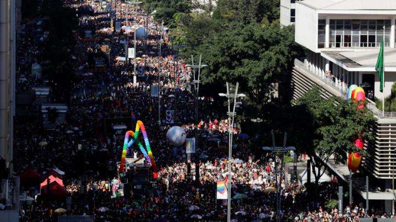 Le succès fou de la Gay Pride de Sao Paulo