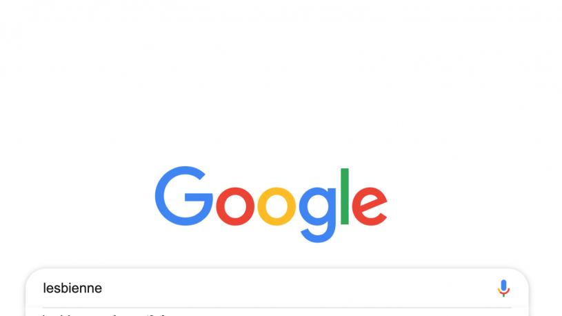 Lesbienne : Google a enfin modifié son algorithme