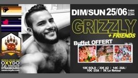 Grizzly à Strasbourg le dim. 25 juin 2017 de 14h00 à 23h00 (Sexe Gay)