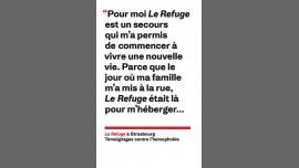Présentation et Sortie du livre Le Refuge à Strasbourg à Strasbourg le sam. 20 mai 2017 de 17h30 à 19h00 (Rencontres / Débats Gay, Lesbienne, Trans, Bi)