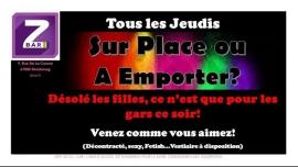 Sur place ou à emporter? in Strasbourg le Do 21. September, 2017 22.00 bis 04.00 (Clubbing Gay, Lesbierin)