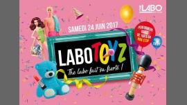 LABOTOYS SPÉCIALE GAYPRIDE à Paris le sam. 24 juin 2017 de 15h00 à 06h00 (After-Work Gay)