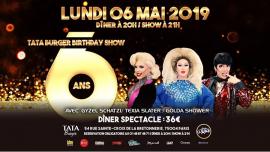 Le Tata fête ses 6 ans avec les Folles de Paris ! in Paris le Mon, May  6, 2019 from 08:00 pm to 11:59 pm (After-Work Gay Friendly)