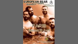 European Bear RDV à Paris à Paris le sam. 13 avril 2019 de 14h00 à 20h00 (Sexe Gay)
