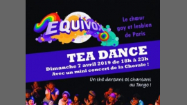 Thé Dansant d'Equivox au Tango à Paris le dim.  7 avril 2019 de 18h00 à 23h00 (Tea Dance Gay, Lesbienne, Hétéro Friendly)