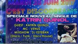 Mardi c est disco !! Spéciale Katrin Quinol à Paris le mar. 20 juin 2017 à 23h55 (After-Work Gay Friendly)
