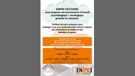 Permanence Ecoute Psy Et Sexo em Paris le sáb, 29 junho 2019 14:00-16:00 (Reuniões / Debates Gay, Lesbica, Bear)