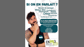 Si on en parlait ? Permanence Ecoute Psy Et Sexo in Rouen le Wed, September 11, 2019 from 06:30 pm to 09:30 pm (Health care Gay, Lesbian)