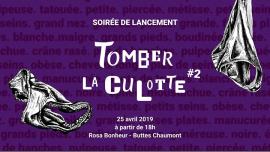 Soirée de lancement de Tomber la Culotte #2 en Paris le jue 25 de abril de 2019 18:00-00:00 (After-Work Gay, Lesbiana)