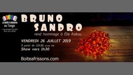 Bruno Sandro rend hommage à Élie Kakou. in Paris le Fri, July 26, 2019 from 10:30 pm to 05:00 am (Clubbing Gay, Lesbian)