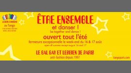 Le Bal LGBT du Tango à Paris le sam.  6 juillet 2019 de 22h30 à 05h00 (Clubbing Gay, Lesbienne)