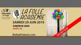 La Folle Académie - Spéciale Fierté em Paris le sáb, 29 junho 2019 22:30-05:00 (Clubbing Gay, Lesbica)