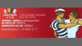 Le Bal de La Boîte à Frissons à Paris le sam. 19 août 2017 de 22h30 à 05h00 (Clubbing Gay, Lesbienne)