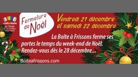 Fermeture de Noël. à Paris le ven. 21 décembre 2018 de 22h30 à 05h00 (Vacances / Congés Gay, Lesbienne)