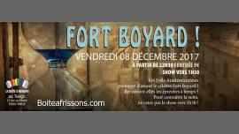 Mission Fort Boyard ! à Paris le ven.  8 décembre 2017 de 22h30 à 05h00 (Clubbing Gay, Lesbienne)