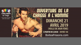 Ouverture de la chasse à l'Homme ! in Paris le Sun, April 21, 2019 from 10:30 pm to 05:00 am (Clubbing Gay, Lesbian)