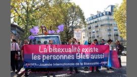 Marche interassociative journée internationale de la Bisexualité à Paris le sam. 23 septembre 2017 de 13h30 à 19h00 (Parades / Défilés Gay, Lesbienne, Trans, Bi)