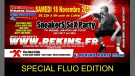 Sneakers and Sportswear Party Special Fluo Edition in Paris le Sat, November 18, 2017 from 10:00 pm to 05:00 am (Sex Gay)