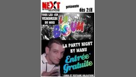 """Party night by manu """"La Boum"""" à Paris du  1 décembre 2017 au  5 mai 2018 (Sexe Gay)"""