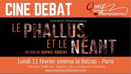 Cinédébat OLF : Le Phallus et le Néant à Paris le lun. 11 février 2019 de 20h00 à 22h30 (Cinéma Lesbienne)
