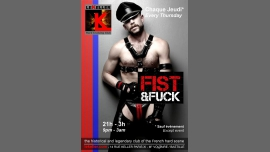 Fist and Fuck à Paris le jeu. 29 septembre 2016 de 21h00 à 03h00 (Sexe Gay)