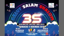 Soirée 3S:  Salut Salam Shalom in Paris le Sun, November 11, 2018 at 06:00 pm (Tea Dance Gay, Lesbian)