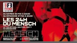 24H du Mensch /// PF#7 em Paris le sáb, 30 maio 2020 23:00-23:00 (Sexo Gay, Bear)