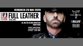 Full Leather /// PF#7 in Paris le Fri, May 29, 2020 from 10:00 pm to 06:00 am (Sex Gay, Bear)