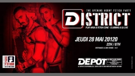 District /// PF#7 in Paris le Thu, May 28, 2020 from 10:00 pm to 07:00 am (Clubbing Gay, Bear)