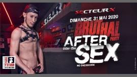 After Sex /// PF#7 em Paris le dom, 31 maio 2020 00:00-15:00 (Sexo Gay)