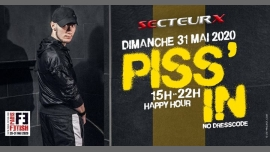 Piss'In /// PF#7 in Paris le Sun, May 31, 2020 from 03:00 pm to 10:00 pm (Sex Gay)