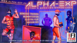 Alpha-Exp in Paris le Sa 25. Mai, 2019 14.30 bis 18.30 (Sexe Gay, Bear)