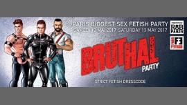 Bruthal Party à Paris le sam. 13 mai 2017 de 21h30 à 05h30 (Clubbing Gay, Bear)