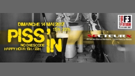 Piss'in in Paris le Sun, May 14, 2017 from 03:00 pm to 10:00 pm (Sex Gay, Bear)