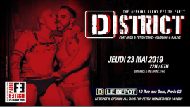 Disctrict in Paris le Thu, May 23, 2019 from 10:00 pm to 07:00 am (Clubbing Gay, Bear)