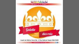 Galette d'Homoboulot et des associations membres à Paris le jeu. 12 janvier 2017 de 18h30 à 23h59 (After-Work Gay, Lesbienne)