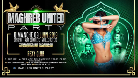 Maghreb united Leila Party in Paris le Sun, June  9, 2019 from 11:00 pm to 06:00 am (Clubbing Gay, Bear)